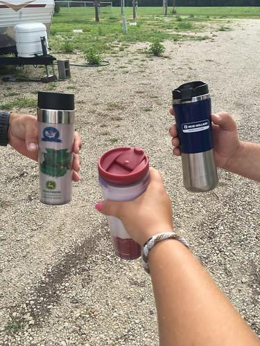 Coffee cheers.