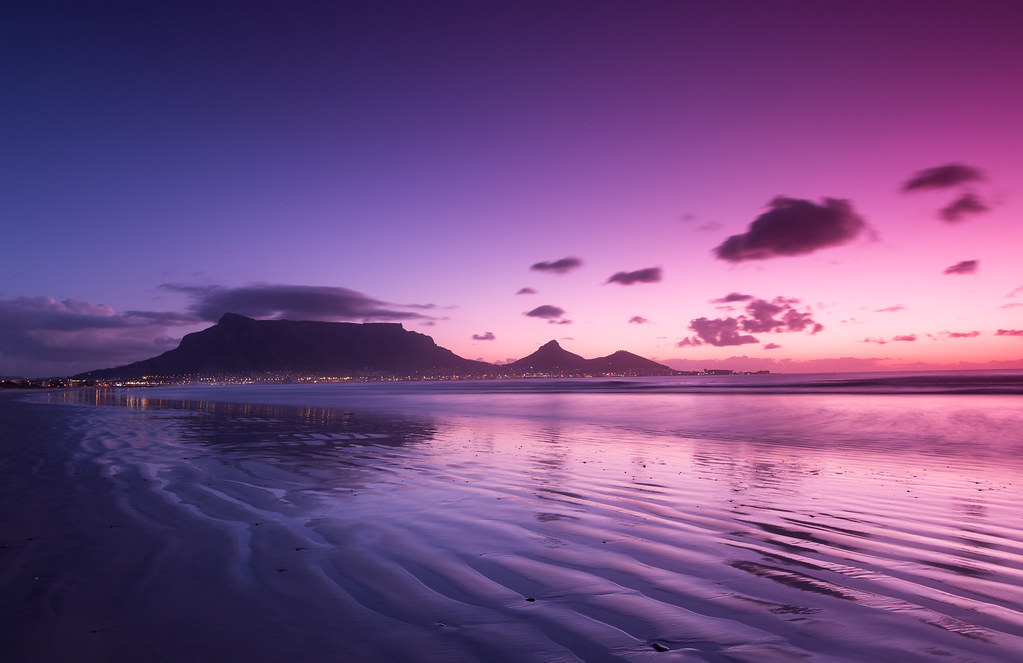 Cape Town Sunset Website Prints The Sun Sets On