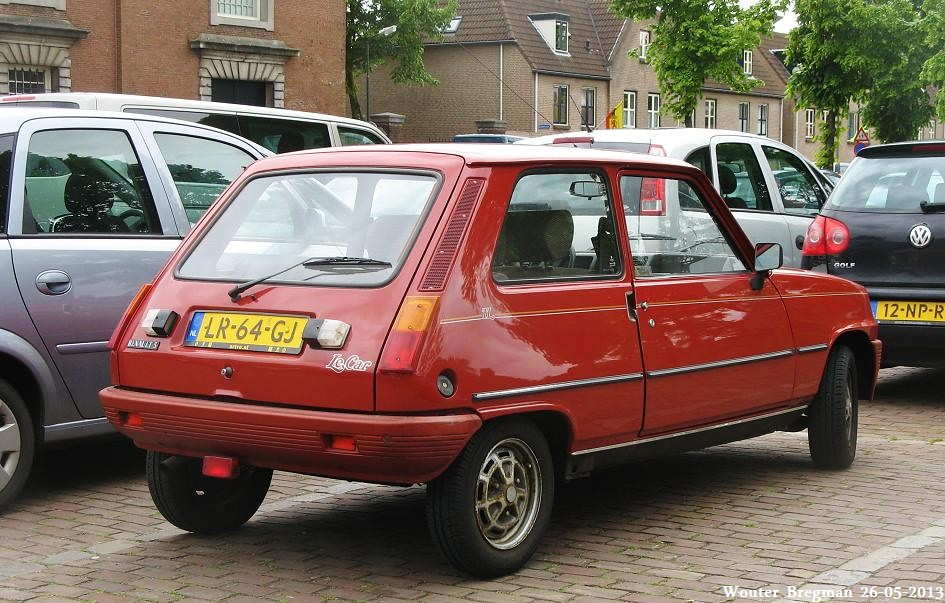 renault 5 tl le car 1984 wouter bregman flickr. Black Bedroom Furniture Sets. Home Design Ideas