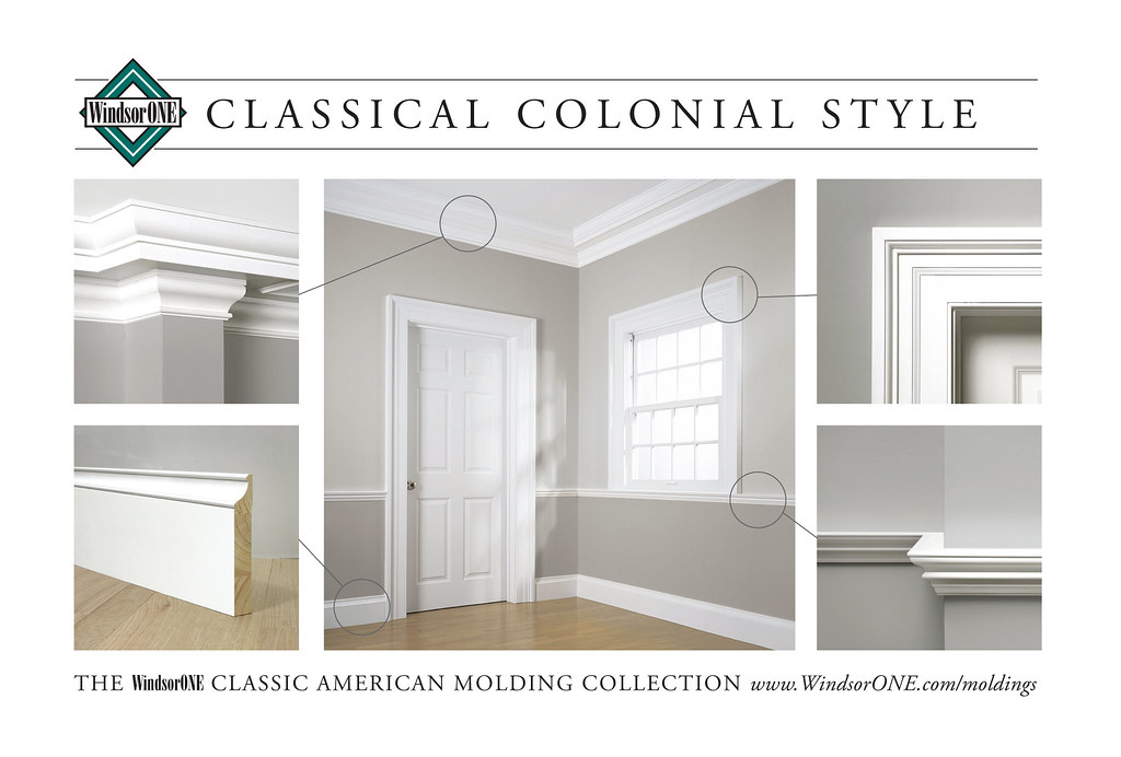 Classical Colonial Molding Room 1 Historically Accurate