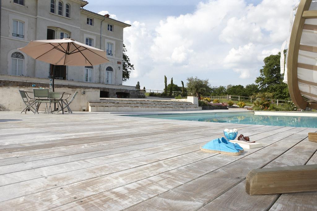 terrasse en ip bed carquefou une terras flickr. Black Bedroom Furniture Sets. Home Design Ideas