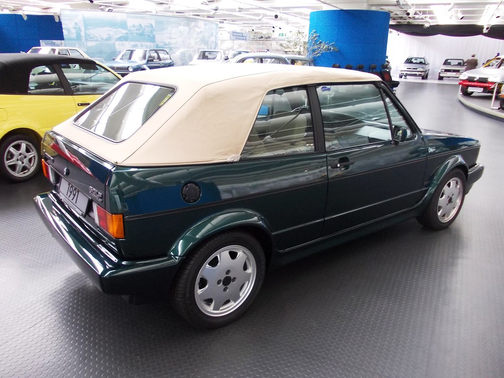 VW Golf I Cabrio 'Classic Line' 1991 | Volkswagen Museum Wol… | Flickr