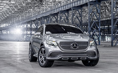 2014 Mercedes Benz Concept Coupe SUV Picture gallery