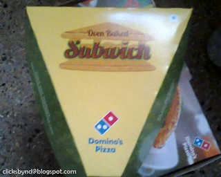 DOMINOS OVEN BAKED SUBWICH