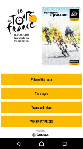 Tour de France Application