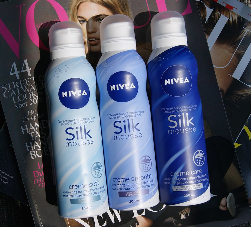 Nivea Silk Mousse