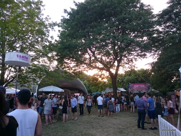 Taste of Toronto 2016 sunset