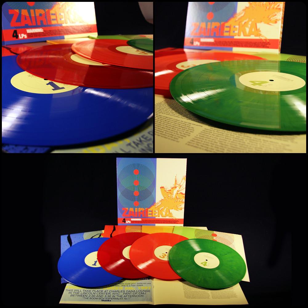Flaming Lips Zaireeka 4 X Lp Vinyl Box Set Flaming