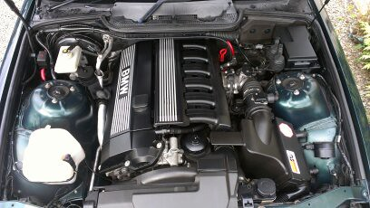 Bmw E36 323i Coupe Engine Bay Keith Carney Flickr