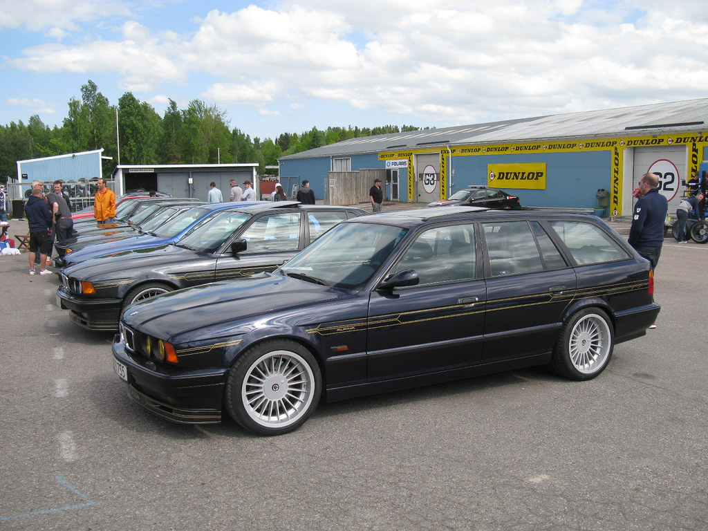 Bmw Alpina B10 Biturbo Touring E34 Nakhon100 Flickr