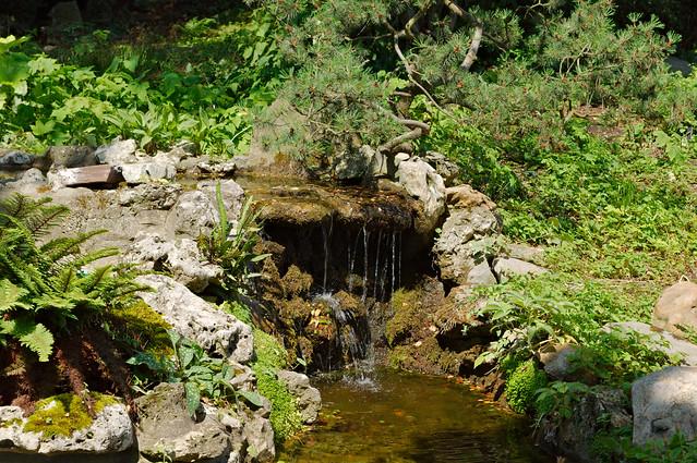 Petite cascade du jardin des plantes flickr photo sharing for Animalerie du jardin des plantes