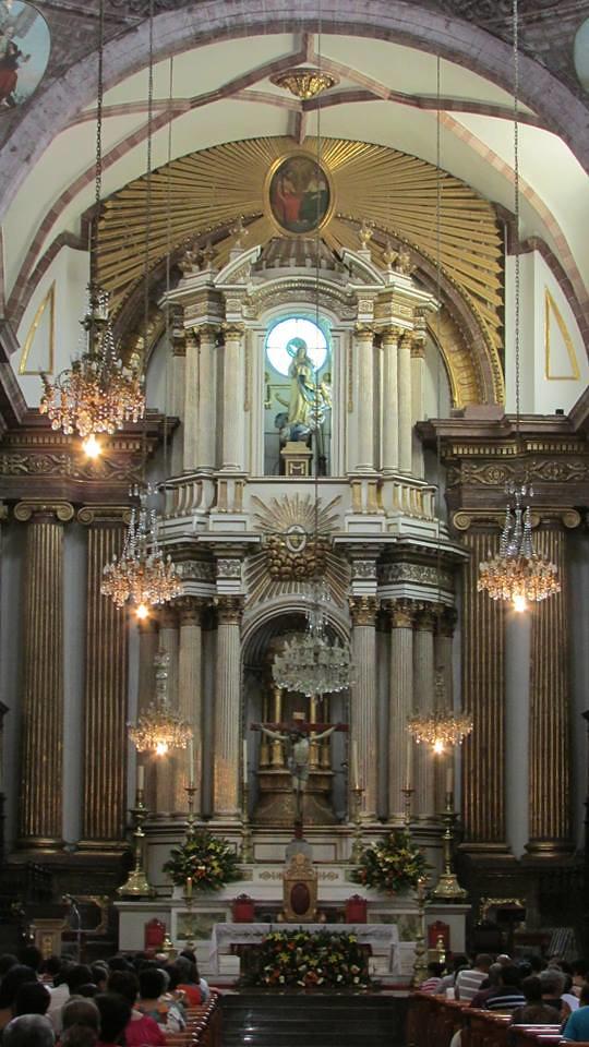 Presbiterio de la catedral de la inmaculada concepci n za for Catedral de zamora interior