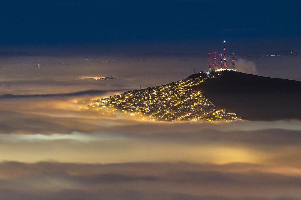 Neblina zona metropolitana de la ciudad de Guadalajara Méx ...