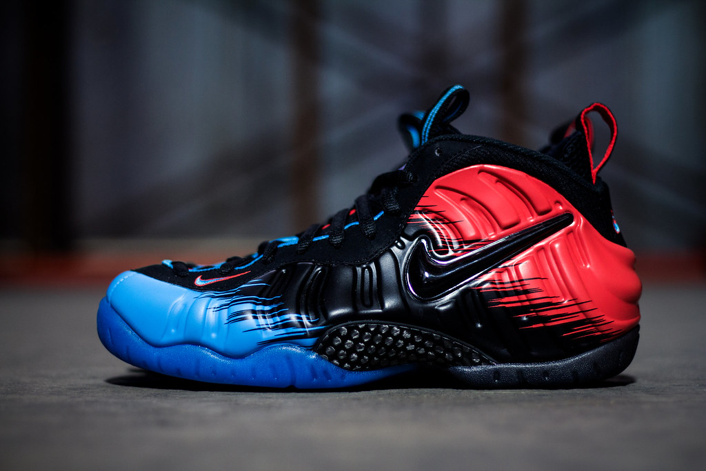 Nike Foamposite 'Spiderman' | Justin Wolfe | Flickr