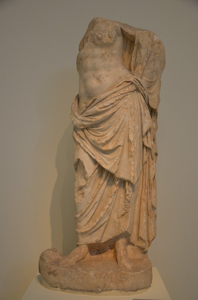 Statue Of A Goddess Possibly Aphrodite Found Near The Mo