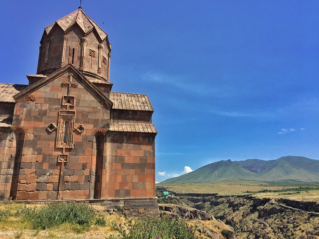 Monasterio de Juan el Bautista en el Cañón de Kasagh (Armenia)