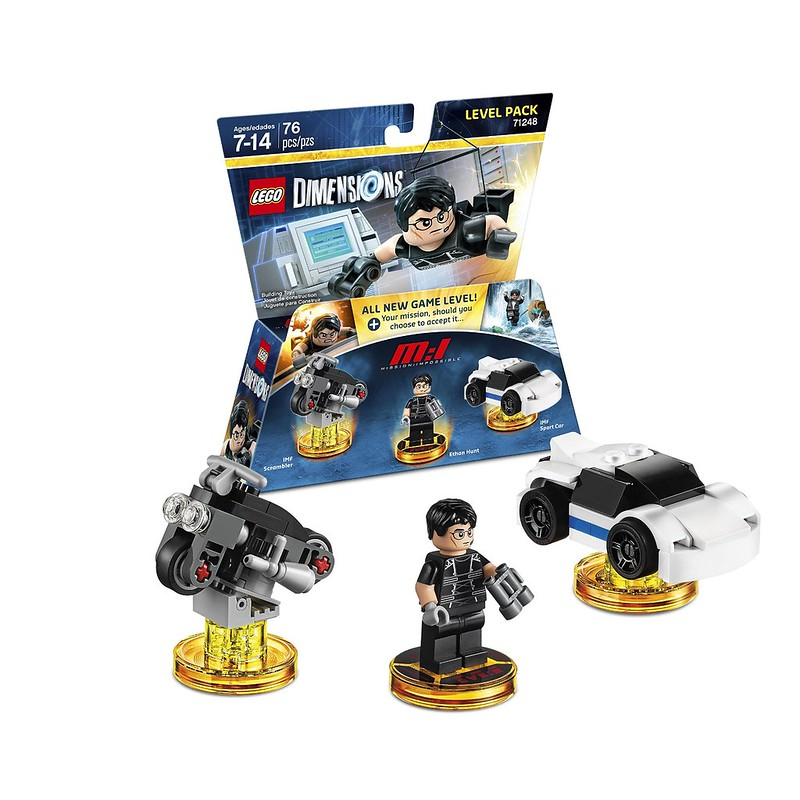 LEGO Dimensions 2016: 71248 - Mission Impossible Level Pack