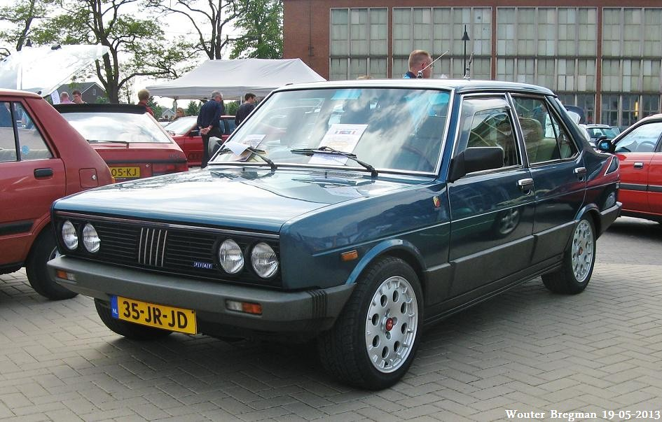 Fiat 131 2000 Tc Volumetrico Abarth 1982 Youngtimer