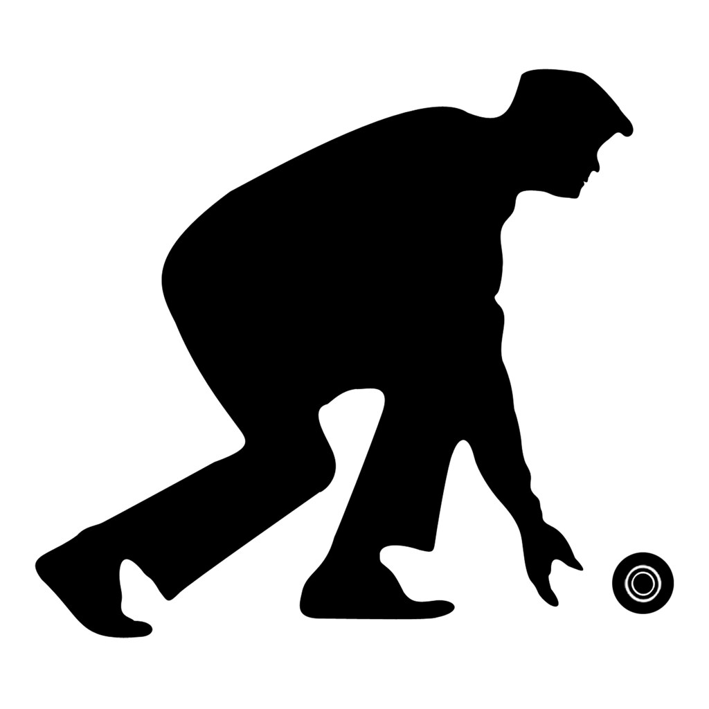 Bowler Silhouette | Flickr - Photo Sharing!: https://www.flickr.com/photos/bowls_clipart/9498951481