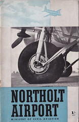 Ministry of Civil Aviation - Northolt (London) Airport, booklet cover, 1948