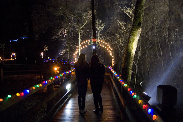 Share This Incredibly Fun Experience With The Ones You Love   The Lighting  Of The Tunnel