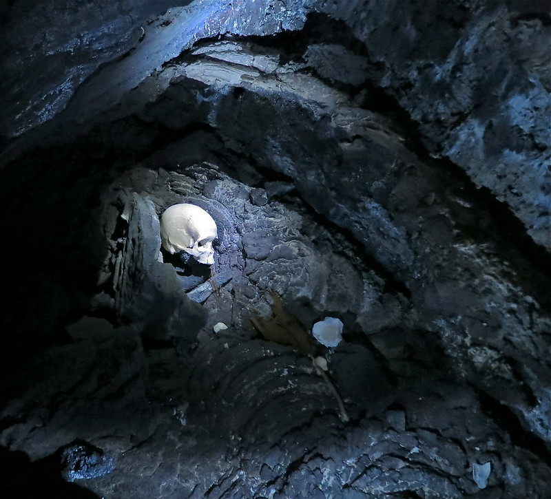 We found human remains in the lava tubes of Kona