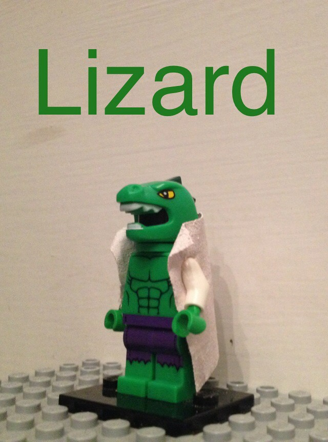Lego Lizard Spiderman | www.imgkid.com - The Image Kid Has It!