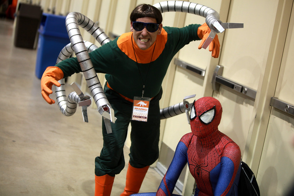 Doctor Octopus Amp Spiderman Cosplayers Doctor Octopus And