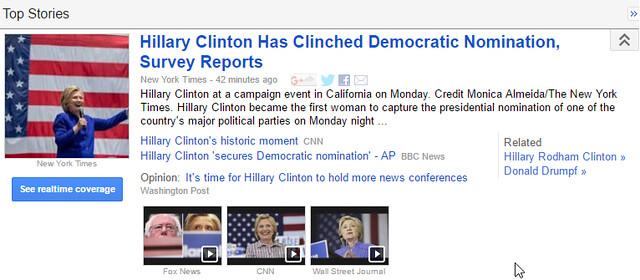 Hillary Nomination