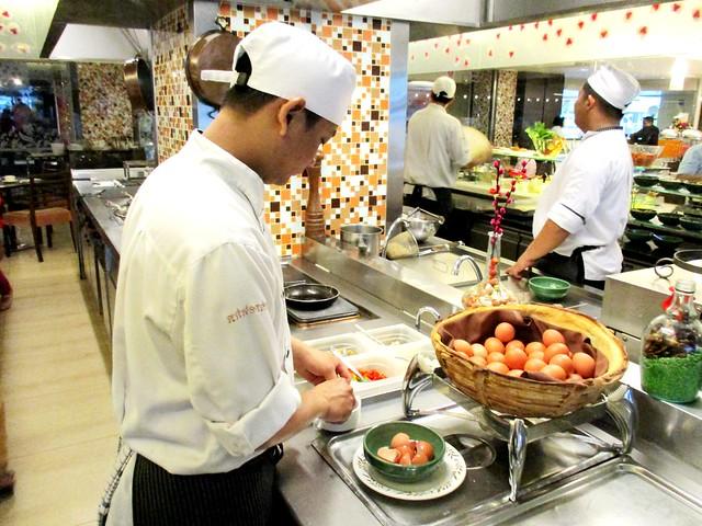 Grand Margherita egg station