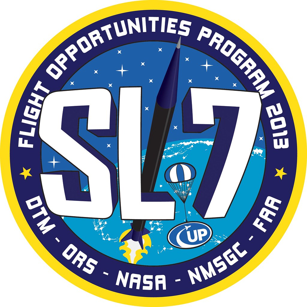 SL-7 Mission Patch | NASA Flight Opportunities | Flickr