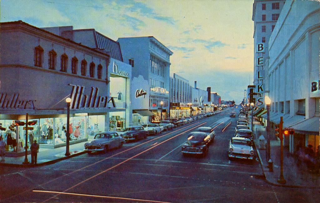 Clematis Street West Palm Beach Florida 1950 S Ryan