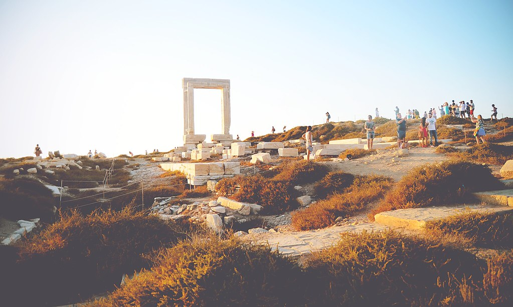 Apollo's Temple at Naxos, Greece | via It's Travel O'Clock