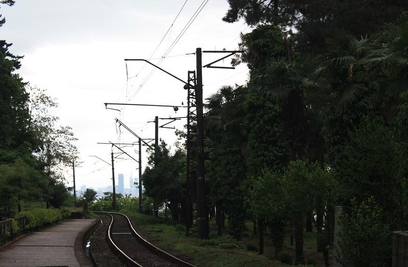 На поезде Грузия