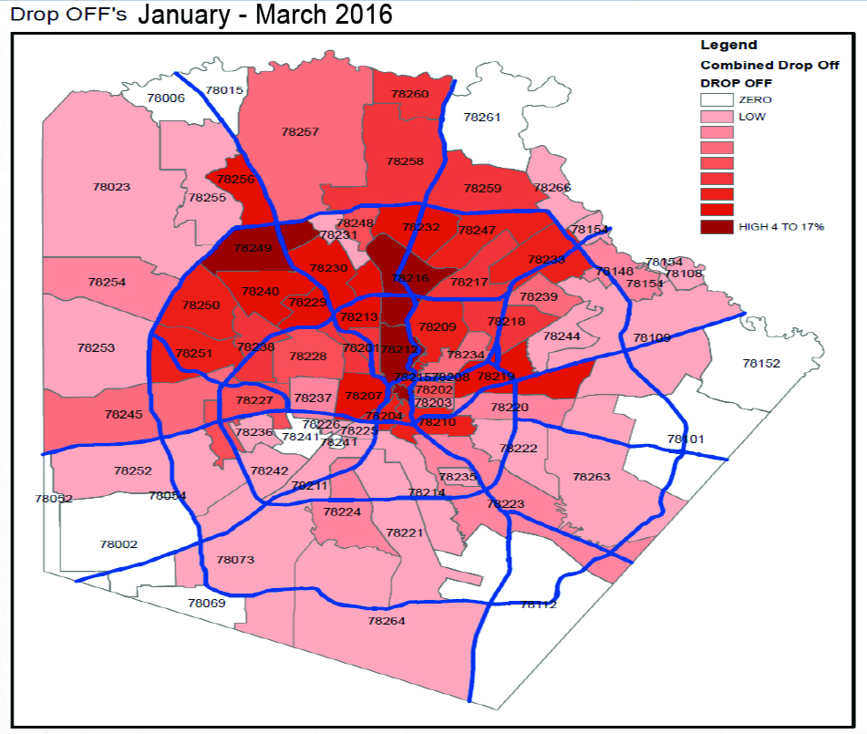 Low-income areas of San Antonio not served by Uber and Lyft | San ...