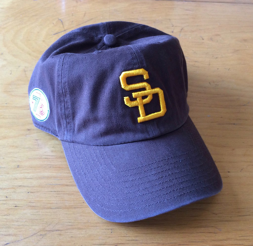 70e0d7d962b Our next  47 cap up for raffle is this Padres cap