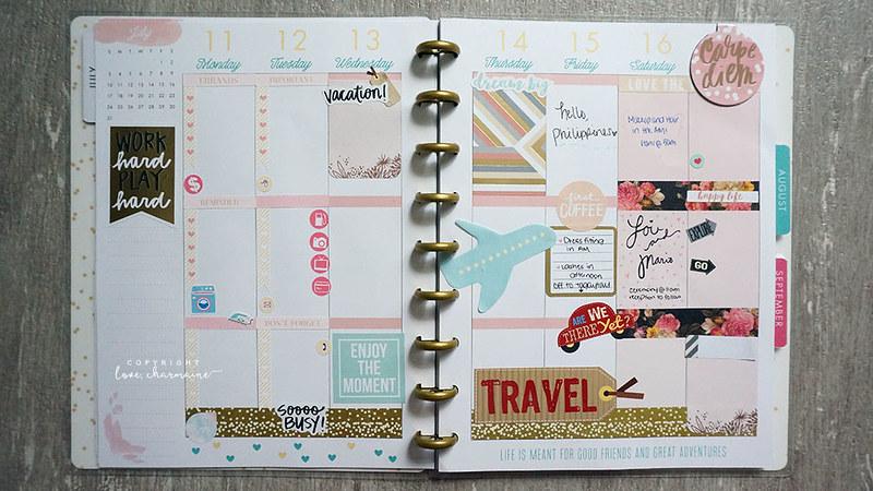Plan With Me Week 28 | LoveCharmaine.com