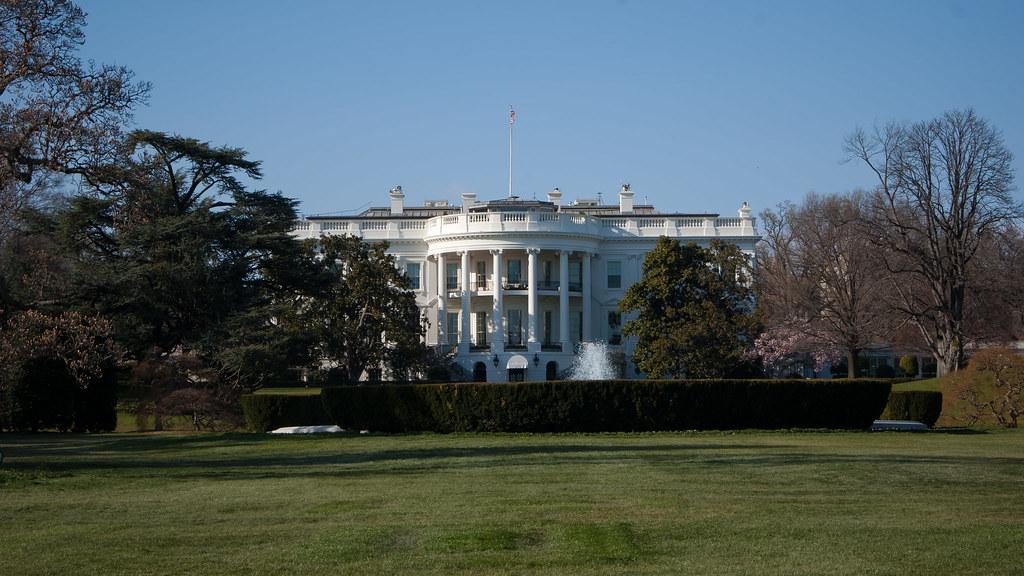 back lawn south lawn the white house washington dc
