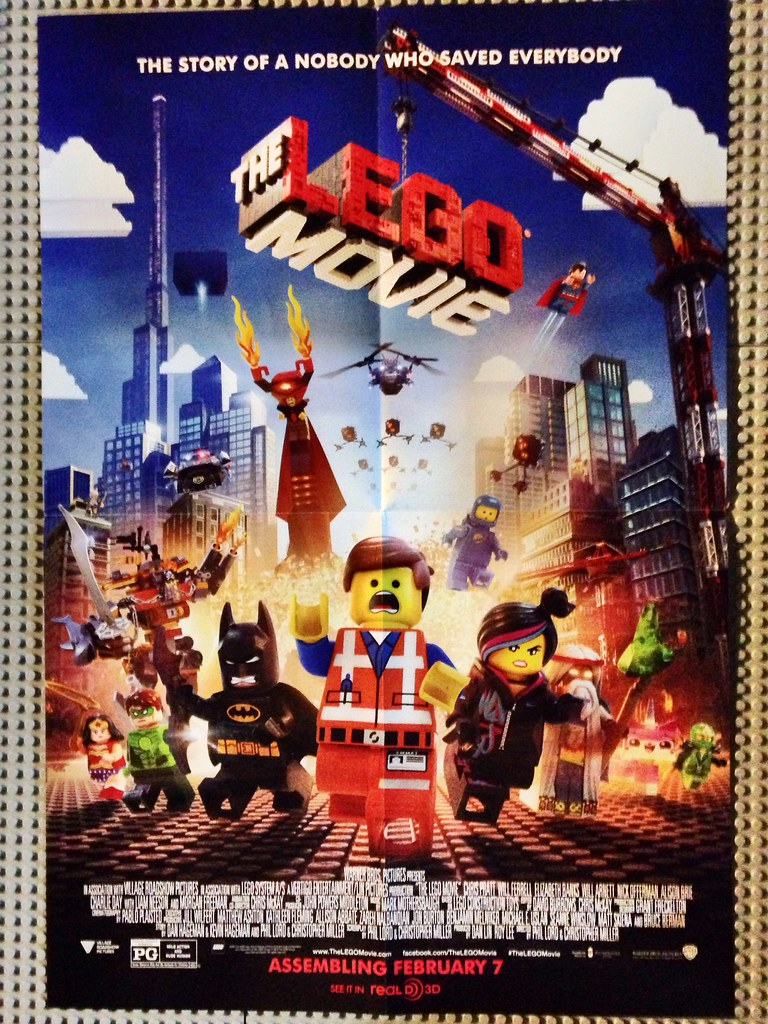 The LEGO Movie Poster : Received this in my latest S@H ...