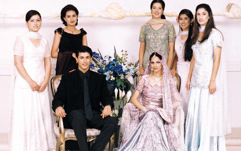Pakistani Punjabi wedding family | Punjabi people | treeesnow | Flickr