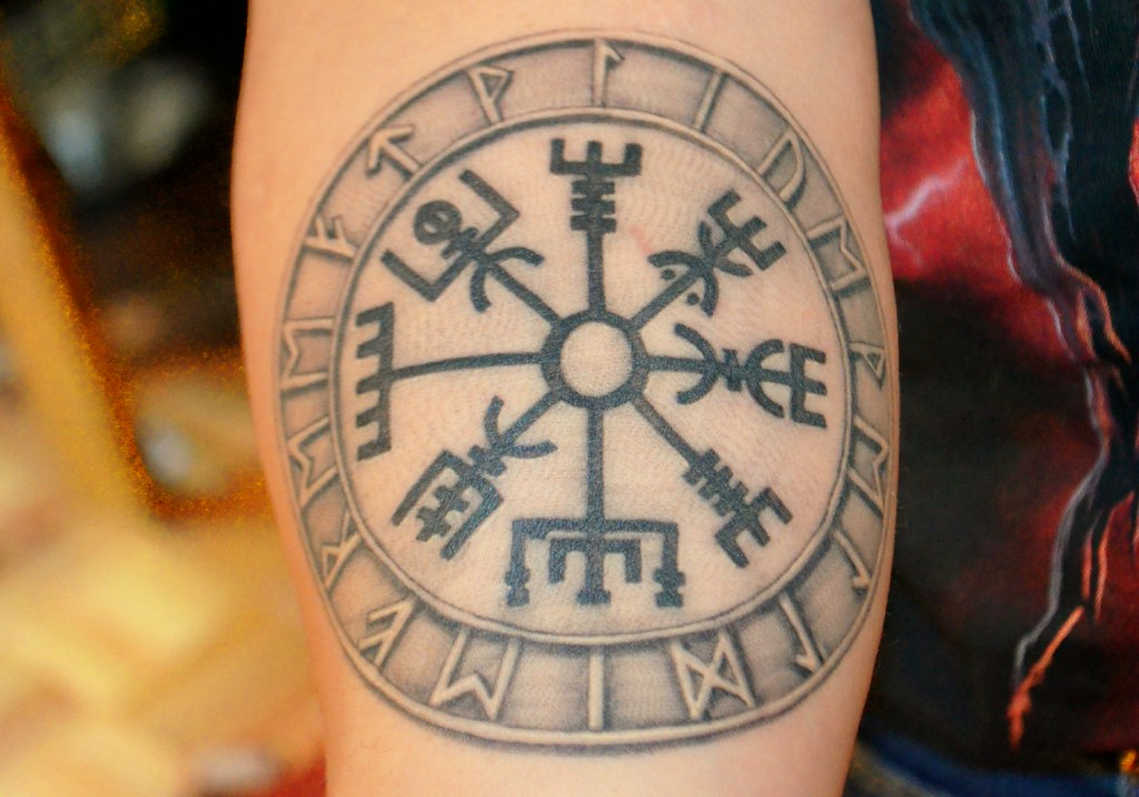 Vegvisir Meaning: This Is My Latest Tattoo The Symbol