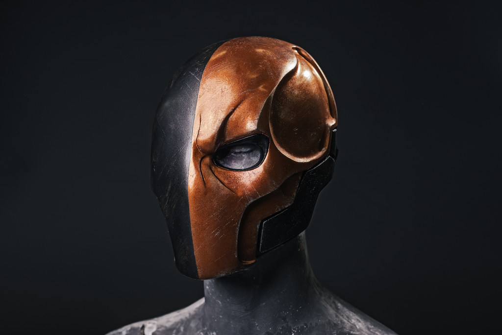 Deathstroke Without Mask Deathstroke Mask   Cre...