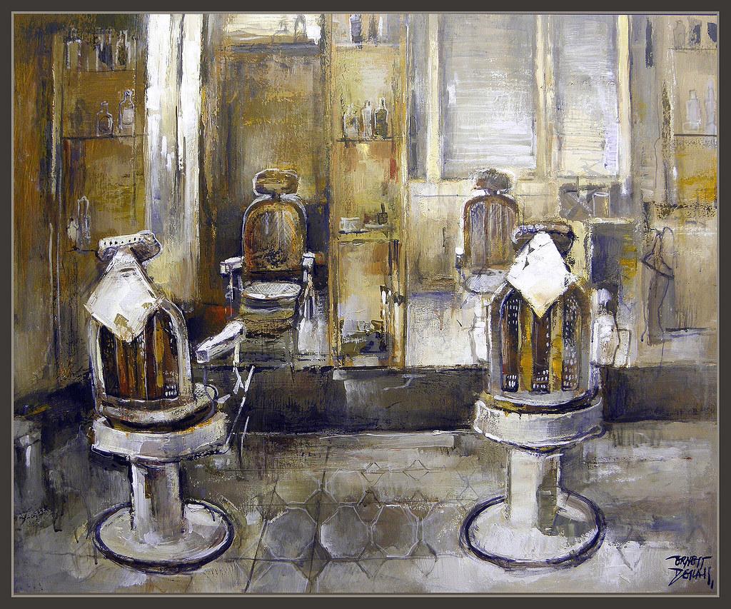 Barberias antiguas manresa barberia barcelona catalunya pi for Pinturas para salones