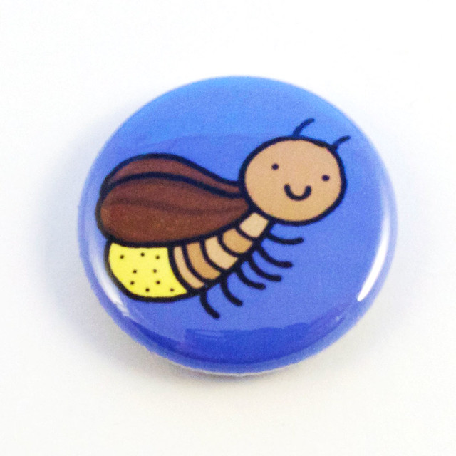 Lightning Bug Button