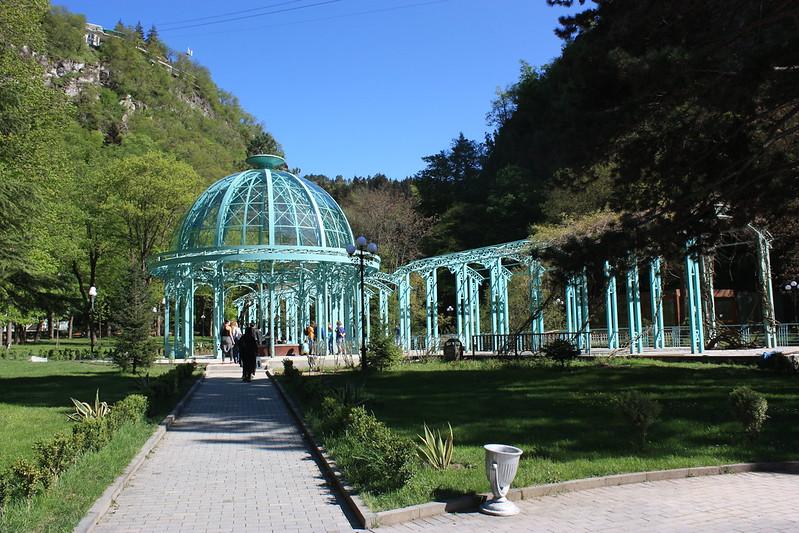 Боржоми,центральный парк