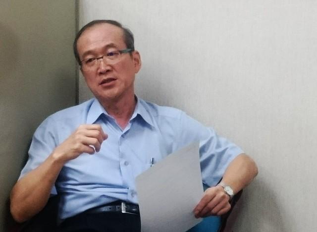 農委會參事張彬說明台灣林業振興計畫。攝影:廖靜蕙