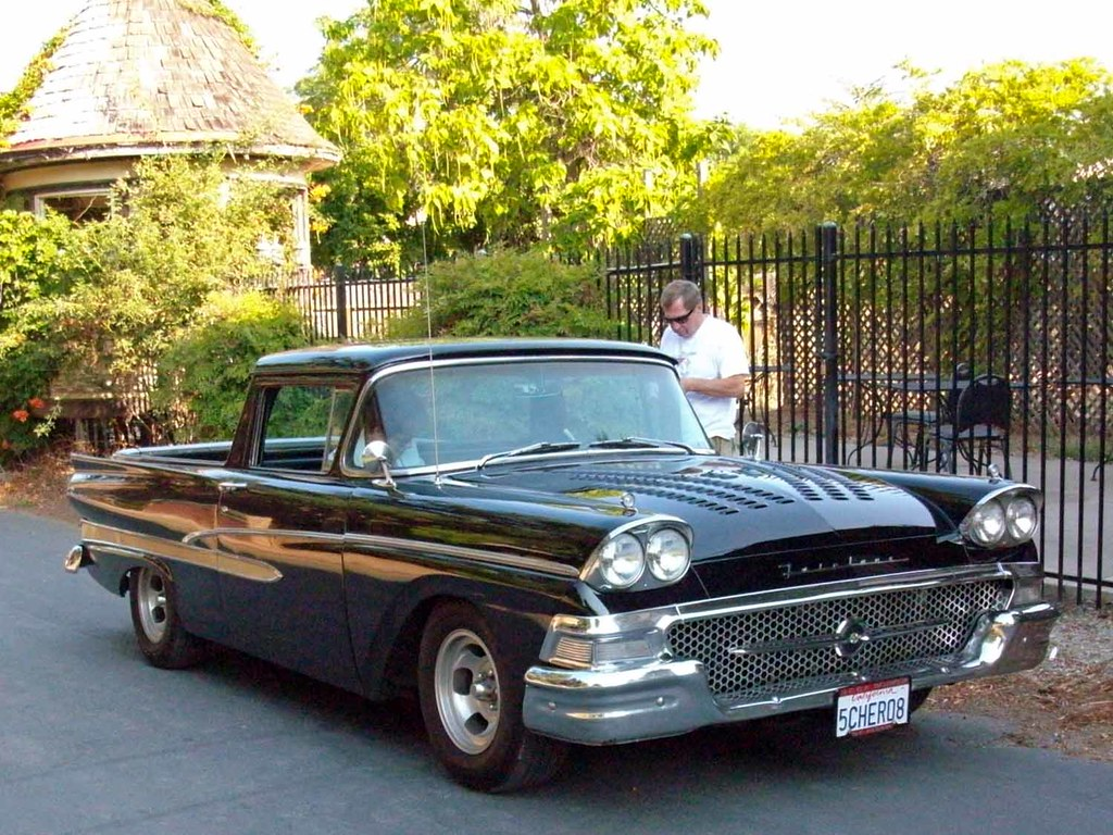 1958 ford ranchero 2nd annual rods to rails car and bike. Black Bedroom Furniture Sets. Home Design Ideas