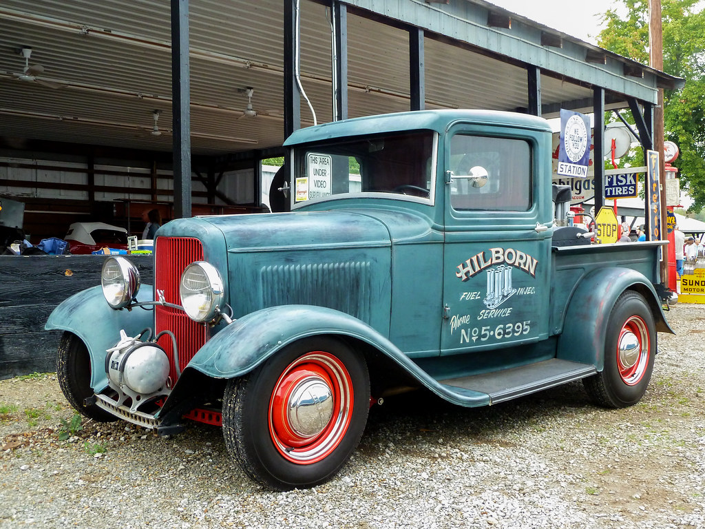 1932 Ford Pickup Truck Hilborn Fuel Injection Service