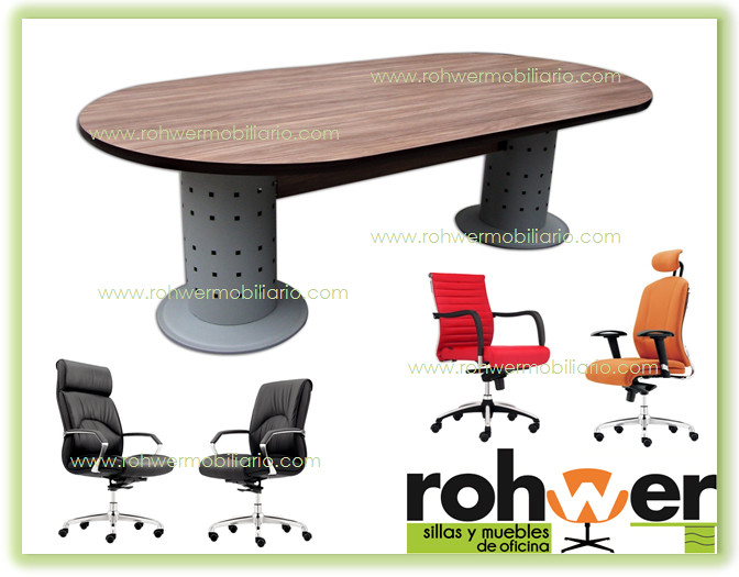 Mesa de juntas rohwer 01 muebles de oficina monterrey flickr for Muebles de oficina monterrey