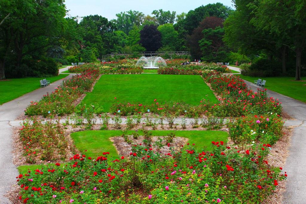Columbus Park Of Roses Columbus Has A Huge Rose Garden